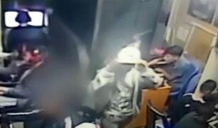 El Agustino: menores captados robando en cabina de internet