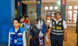 Migraciones expulsa a extranjeras que simularon embarazo para ingresar a Perú