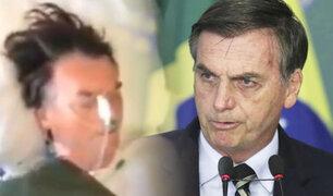 Brasil: Bolsonaro publicó imágenes inéditas del día en que fue apuñalado