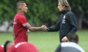 """Ricardo Gareca sobre Paolo Guerrero: """"Es el mejor delantero que he tenido"""""""