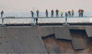 Inglaterra: miles de evacuados ante posible colapso de represa