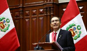 Martín Vizcarra: 54% aprueba gestión del mandatario, según Ipsos
