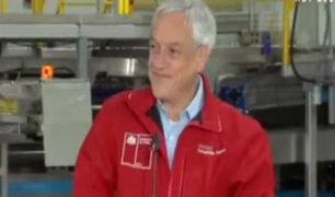 Chile: así fue la reacción del presidente Piñera durante sismo de 6.6 grados