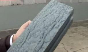Marca de colchones transforma plásticos en ladrillos para construcción