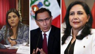 Beteta insta al presidente Vizcarra evaluar permanencia de la ministra de la Mujer