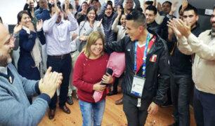 Boxeador Miguel Germán podrá cumplir el sueño de regalarle un departamento a su madre