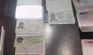Banda que falsificaba pasaportes tenía nexos internacionales