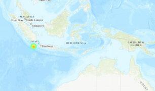 Indonesia: autoridades no han reportado heridos ni fallecidos tras sismo de 6,8 grados