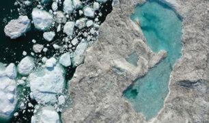 Groenlandia pierde 11 mil millones de toneladas de hielo en un solo día
