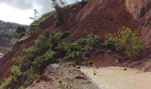 Declaran en emergencia distritos de Apurímac por deslizamientos