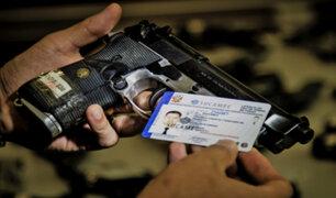 Suspenden otorgamiento de licencias para portar armas por 180 días