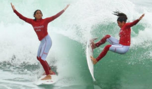 Lima 2019: Daniella Rosas conquista el oro en Surf  y clasifica a Tokio 2020