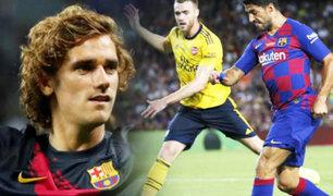 Barcelona venció 2-1 a Arsenal por el Trofeo Joan Gamper