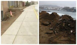 Obras inconclusas afectan a vecinos al sur de Lima