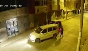 Juliaca: delincuentes en complicidad con taxista asaltan pasajeros