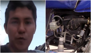 Ucayali: ingeniero inventa mototaxi que funciona 100% con agua