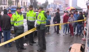 Cercado de Lima: muere tras tropezar y caer al salir de fiesta
