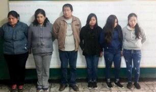 Cercado: capturan a banda que robó lavandería sistemáticamente por 15 años