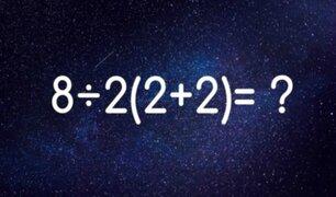 Este es el reto matemático que se volvió viral en redes sociales ¿Puedes resolverlo?