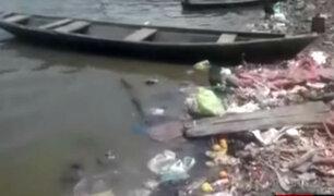 Brutal contaminación también afecta ríos del oriente peruano