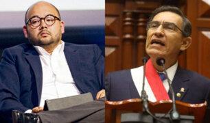 Columbus sobre adelanto de elecciones: es una estrategia para tapar mala gestión de Vizcarra