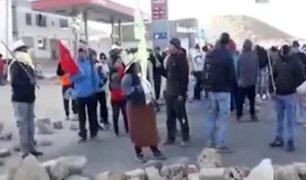 Tía María: bloqueos y disturbios durante paro indefinido en Arequipa