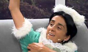 """Bárbara Torres """"Excelsa"""" alborotó el set de 'En Exclusiva' con sus ocurrencias"""