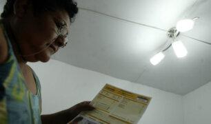Osinergmin: tarifas eléctricas se reducen en todo el país desde agosto
