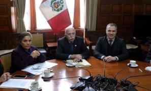 """Tubino califica diálogo con Del Solar como """"Abierto, cordial y positivo"""""""