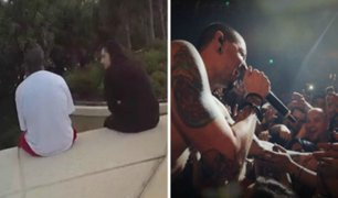 Mujer salva la vida de suicida con canción de Linkin Park