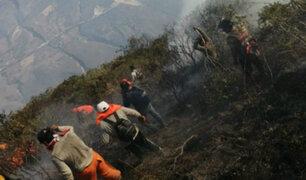 Amazonas: incendio fuera de control amenaza fortaleza de Kuélap