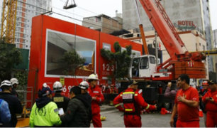 Accidente en construcción de Av. Petit Thouars deja un tercer fallecido