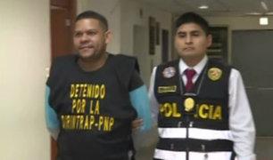 Policía desarticula banda de extranjeros dedicados a la trata de personas