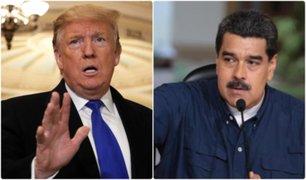 EEUU: Trump ordenó bloquear todos los activos del gobierno de Venezuela