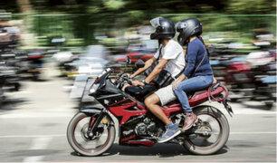 Motos informales ofrecen servicio de taxi a través de aplicativo
