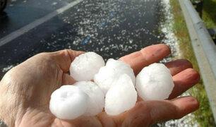 Lluvias torrenciales y granizo de gran tamaño golpean a México
