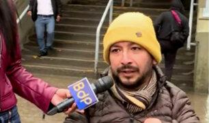 Joven con discapacidad pide mejoras en accesos a vagones del Metro de Lima