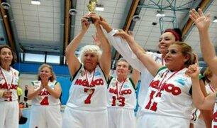 Increíble: abuelitas mexicanas ganan título mundial de basquetbol