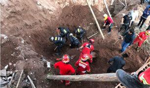Cusco: obreros mueren sepultados tras derrumbe en obra sin licencia