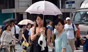 Intensa ola de calor mata a 57 personas en Japón