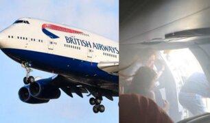 España: avión aterriza de emergencia con la cabina llena de humo