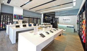 Jockey Plaza: delincuentes asaltan conocida tienda de celulares