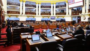 Congreso: Pleno definió recomposición de comisiones ordinarias