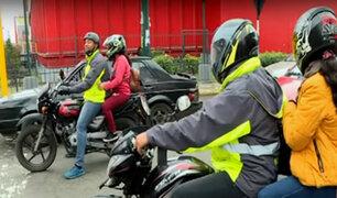 Surco: motociclistas informales se empadronan sin respaldo de la autoridad