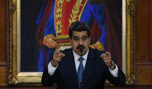 """Venezuela: Maduro acusó a Estados Unidos de """"terrorismo económico"""""""