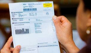 Osinergmin: tarifas eléctricas aumentan desde hoy en 2.27% para domicilios
