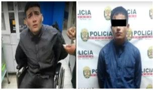Cercado: capturan a delincuentes que robaron S/5 mil a hombre