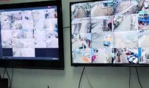 Único centro de videovigilancia en SJM funciona gracias a vecinos
