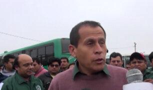 Trujillo: transportistas protestan por asaltos y extorsiones
