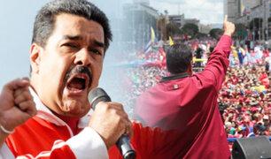 """Venezuela: Maduro anuncia """"frente de resistencia chavista"""" en Perú y otros países"""